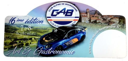 CAB Club Alpine de Bourgogne - Septembre 2019