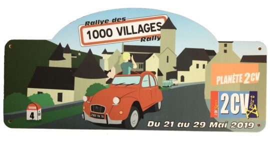 Rallye des 1000 Villages - 2019