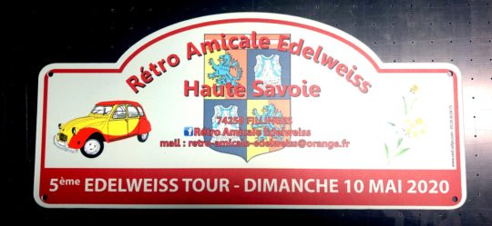 5ème EDELWEISS TOURS - 10 Mai 2020