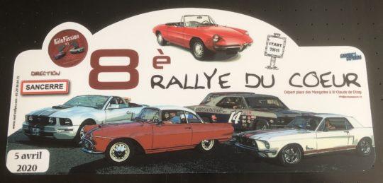 AUTOPASSION 41 - 8ème rallye du coeur - Reporté au 6 Septembre 2020